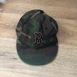 New Era Boston Red Sox Fitted Hat, Camo